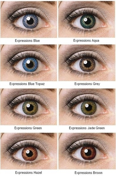 expressions cosmetic contact lenses coopervision