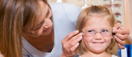 children eye examination