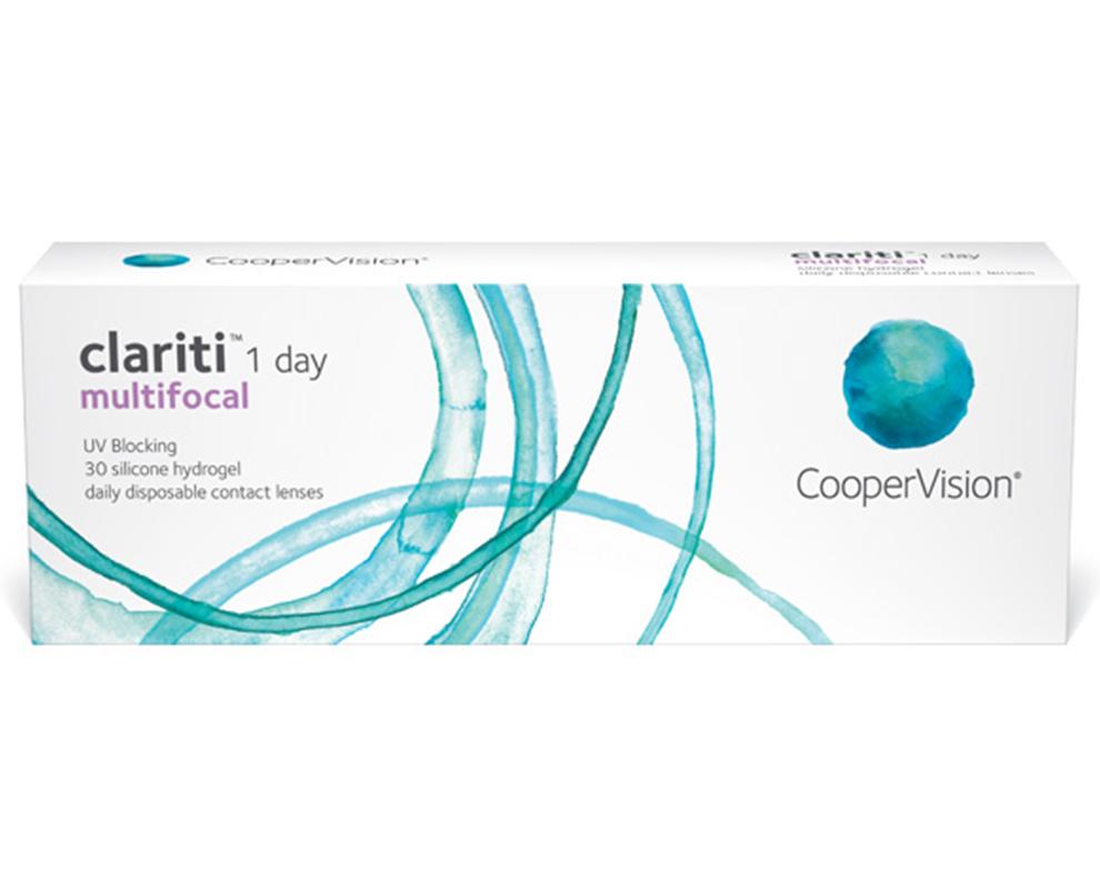 clariti® 1 day multifocal contact lenses