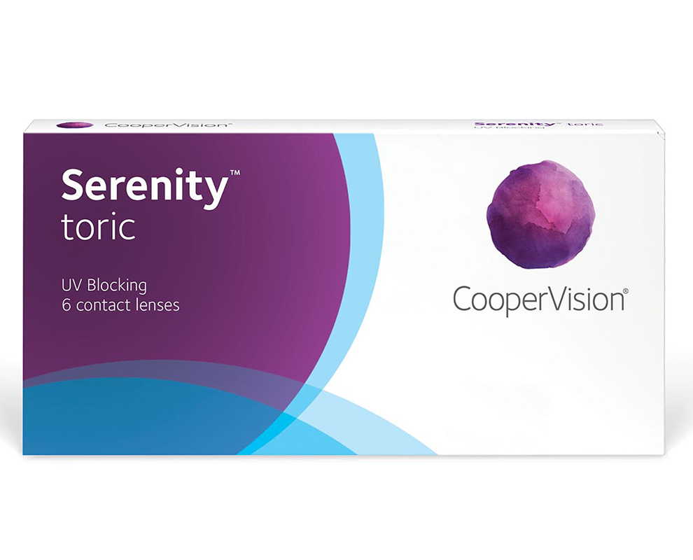 Serenity™ toric contact lenses